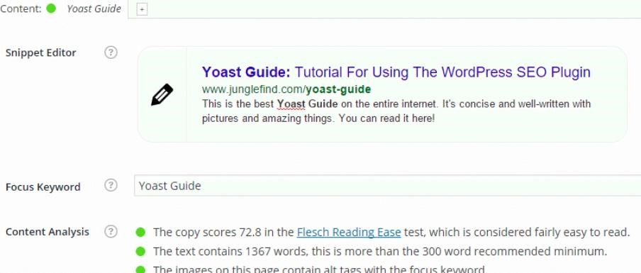example of yeost plugin