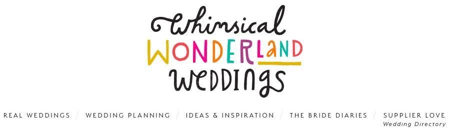 whimiscal wonderland weddings blog example